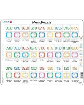 Puzzle Larsen - MemoPuzzle, 54 piese (GP5-GB)