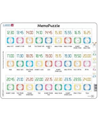 Puzzle Larsen - MemoPuzzle (in Swedish), 54 piese (GP5-SE)