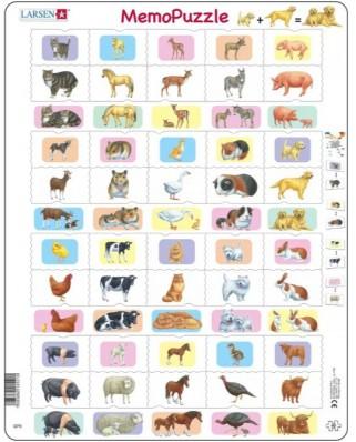 Puzzle Larsen - MemoPuzzle, 40 piese (GP9)