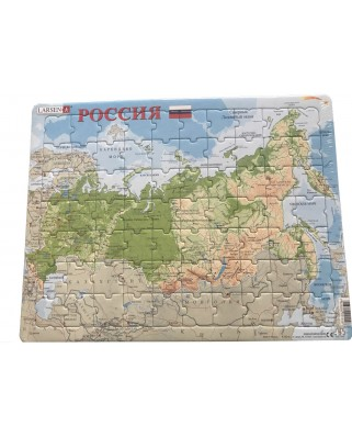 Puzzle Larsen - Russia (in Russian), 70 piese (K55-RU)