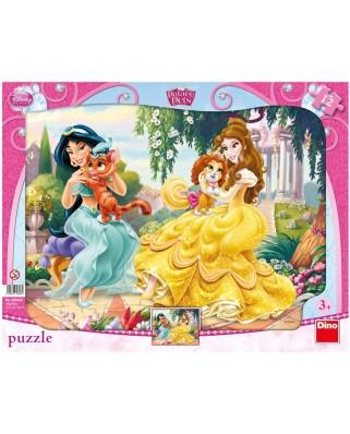 Puzzle Dino - Disney Princess, 12 piese (62853)