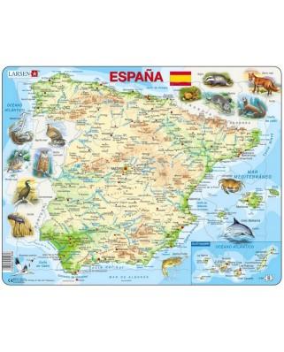 Puzzle Larsen - Spain (in Spanish), 58 piese (K84-ES)