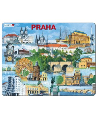 Puzzle Larsen - Prague, 66 piese (KH12-CZ)