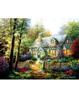 Puzzle Sunsout - Nicky Boehme : A Country Gem, 1.000 piese XXL (19206)