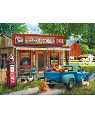 Puzzle Sunsout - Tom Wood: A Stop at the Store, 1.000 piese (28842)