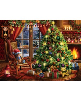 Puzzle Sunsout - Tom Wood: Christmas Memories, 1.000 piese (28846)
