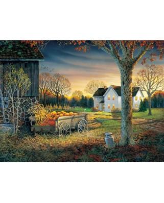 Puzzle Sunsout - Sam Timm : Pumpkin Harvest, 1.000 piese (29046)