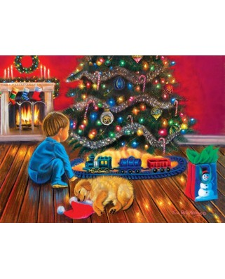 Puzzle Sunsout - Tricia Reilly-Matthews : Under the Tree, 1.000 piese (35897)
