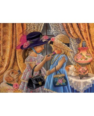 Puzzle Sunsout - Tricia Reilly-Matthews : Playing Dress Up, 1.000 piese (35910)