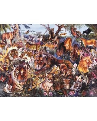 Puzzle Sunsout - Payne Hart: Animal Fantasia, 1.000 piese (50089)