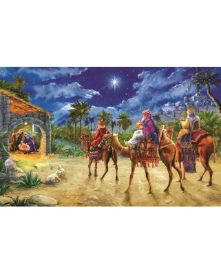 Puzzle Sunsout - Marcello Corti : Journey of the Magi, 550 piese (60602)