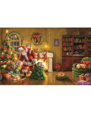 Puzzle Sunsout - Marcello Corti : Santa's Special Delivery, 550 piese (60607)