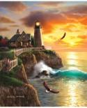 Puzzle Sunsout - William Clayton Hallmark: Eagle Ridge, 1.000 piese (66034)