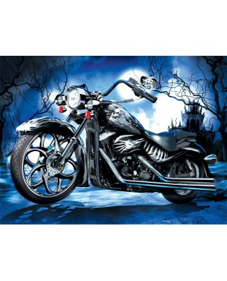 Puzzle Sunsout - Jim Todd: Skeleton Ride, 1000 piese (67977)