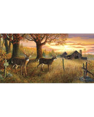 Puzzle panoramic Sunsout - Terry Doughty : Unknown Sanctuary, 1.000 piese (71228)