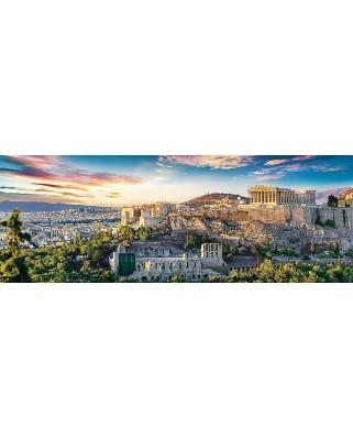 Puzzle panoramic Trefl - Acropolis, Athens, 500 piese (29503)