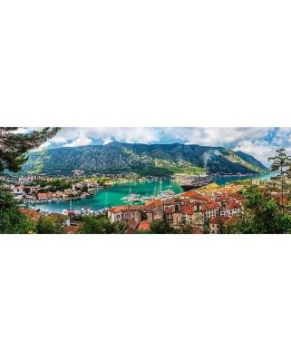 Puzzle panoramic Trefl - Kotor, Montenegro, 500 piese (29506)