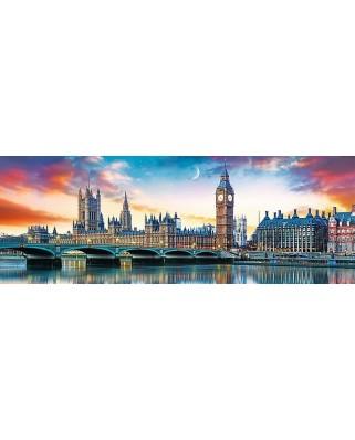 Puzzle panoramic Trefl - London, 500 piese (29507)