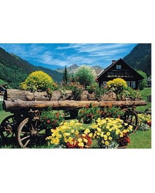 Puzzle Jumbo - Alpine Flowers, 1.000 piese (18335)