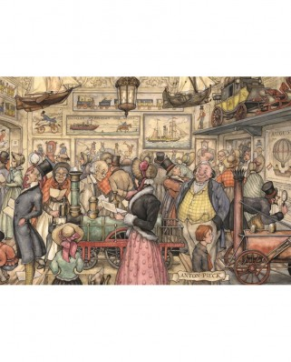 Puzzle Jumbo - Anton Pieck: The Exposition, 1.000 piese (17094)