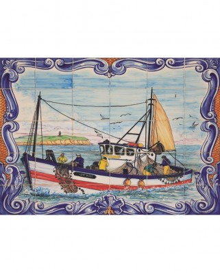 Puzzle Jumbo - Azulejos, Portugal, 1.000 piese (18542)