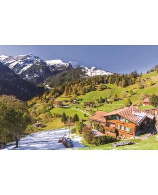 Puzzle Jumbo - Berner Oberland, Switzerland, 1500 piese (18587)