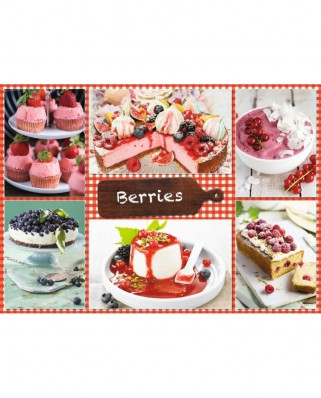 Puzzle Jumbo - Berries, 1.000 piese (18594)