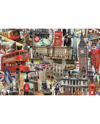 Puzzle Jumbo - Best of London, 1500 piese (18366)