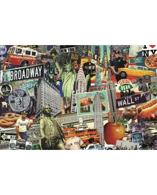 Puzzle Jumbo - Best of New York, 1500 piese (18376)