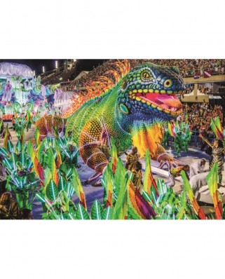 Puzzle Jumbo - Carnival in Rio, 1.000 piese (18365)