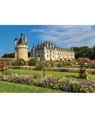 Puzzle Jumbo - Castle of the Loire, France, 1.000 piese (18555)