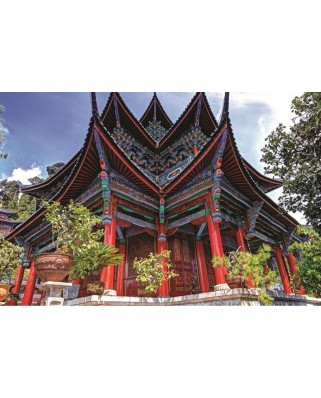 Puzzle Jumbo - Chinese Temple, 1500 piese (18584)