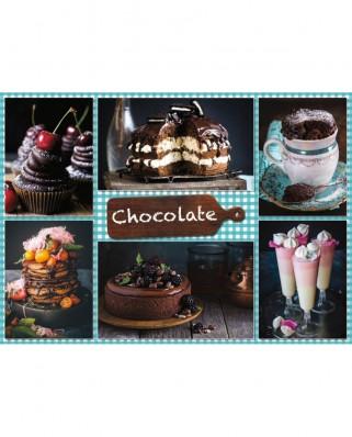 Puzzle Jumbo - Chocolate, 1.000 piese (18593)