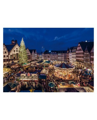 Puzzle Jumbo - Christmas Market in Frankfurt, 1.000 piese (18553)