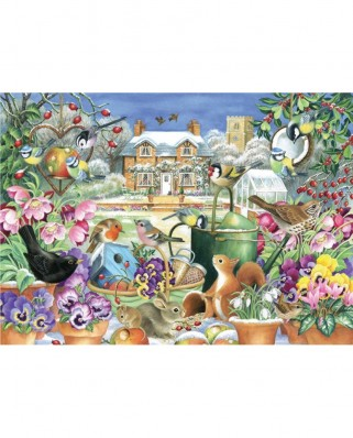 Puzzle Jumbo - Claire Comerford: Winter Garden, 1.000 piese (11130)