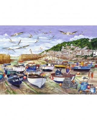 Puzzle Jumbo - Cornwall - Mousehole, 1.000 piese (11186)