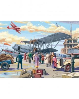Puzzle Jumbo - Croydon Airport, 500 piese (11153)