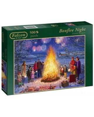 Puzzle Jumbo - Daniel Rodgers: Bonfire Night, 500 piese (11121)
