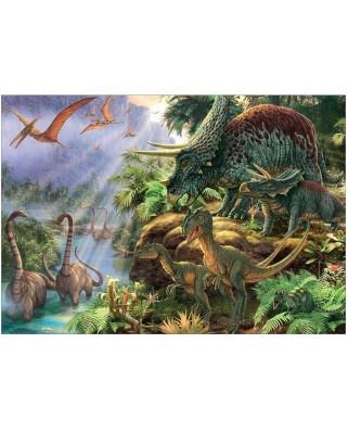 Puzzle Jumbo - Dinosaur Valley, 1.000 piese (18378)