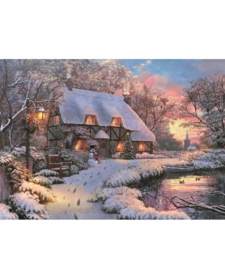 Puzzle Jumbo - Dominic Davison: The Poet's Cottage, 1.000 piese (11133)