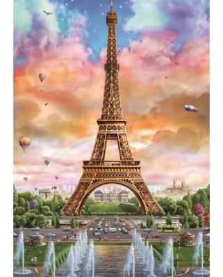 Puzzle Jumbo - Eiffel Tower, Paris, 500 piese (18533)