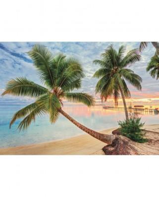 Puzzle Jumbo - French Polynesia, 1.000 piese (18363)