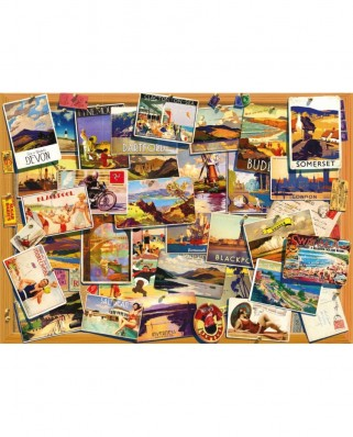 Puzzle Jumbo - Garry Walton: Wish You Were Here, 500 piese (11166)