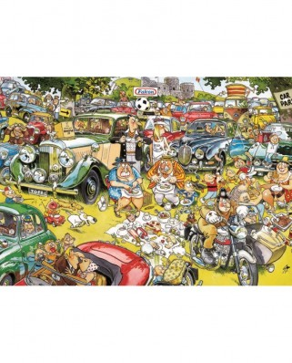 Puzzle Jumbo - Graham Thompson: Picnic in the Park, 1.000 piese (11199)