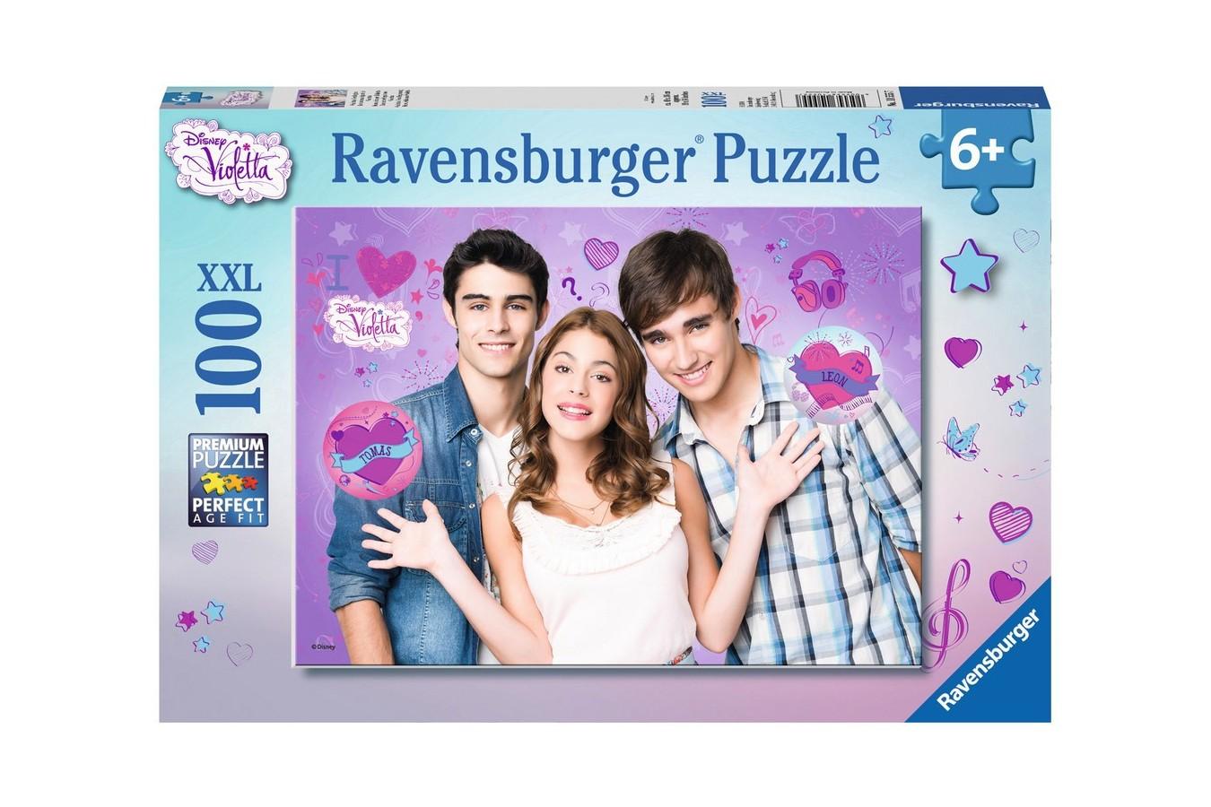 Puzzle Ravensburger - Violetta, 100 piese (10555)