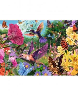 Puzzle Jumbo - Hummingbirds, 500 piese XXL (18513)