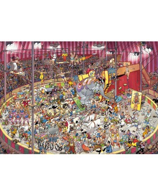Puzzle Jumbo - Jan Van Haasteren: At the Circus, 1.000 piese (01470)