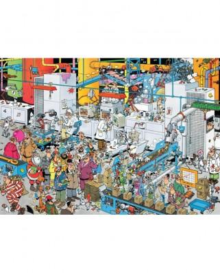 Puzzle Jumbo - Jan Van Haasteren: Candy Factory, 500 piese (19025)