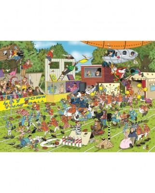 Puzzle Jumbo - Jan Van Haasteren: Chaos on the Field, 150 piese (19020)