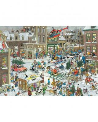 Puzzle Jumbo - Jan Van Haasteren: Christmas, 1.000 piese (13007)